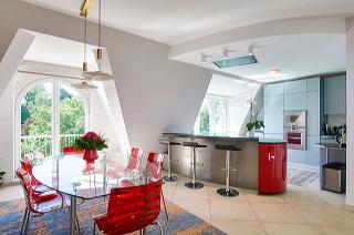 Küche Penthouse Hamburg